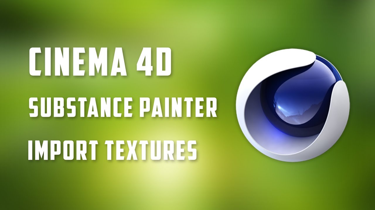 Substance Painter to Cinema 4D Workflow | How to | CGTrader