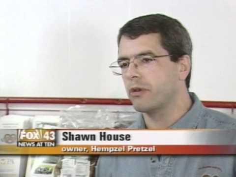 Hempzel's on Fox 43 in 2007 Grow Industrial Hemp in Pennsylvania
