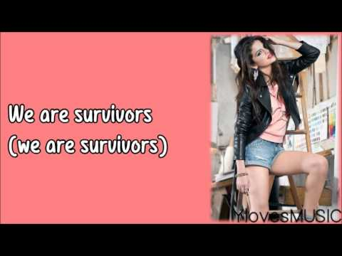 Selena Gomez - Survivors (Lyrics)