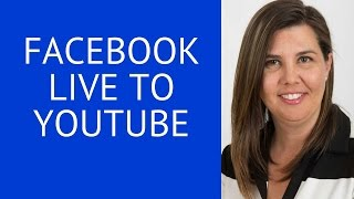 How To Upload a Facebook Live Video To Youtube. How To Download Facebook Live Videos - VERY SIMPLE !