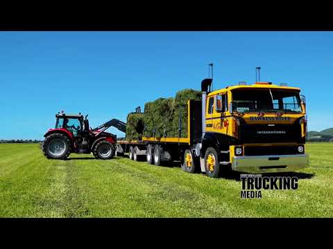 Hawkins River Goes Old School, NZ Trucking Magazine