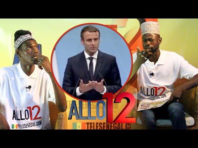 Macron Dans Allo12 avec Tapha Toure ak Ndiol Toth Toth