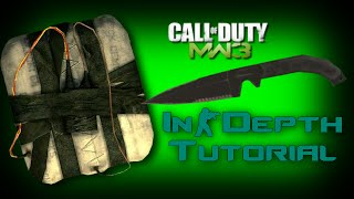 Infected Throwing Knife to C4 multikill Tutorial for all suitable maps (MW3) [HD]