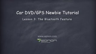 Car GPS DVD Tips: Introduction for Bluetooth Feature in Car DVD GPS (2013 Eonon)