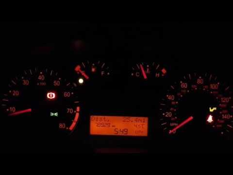 Сколько  можно проехать когда загорелась  лампочка  топлива  на Fiat Still. 2
