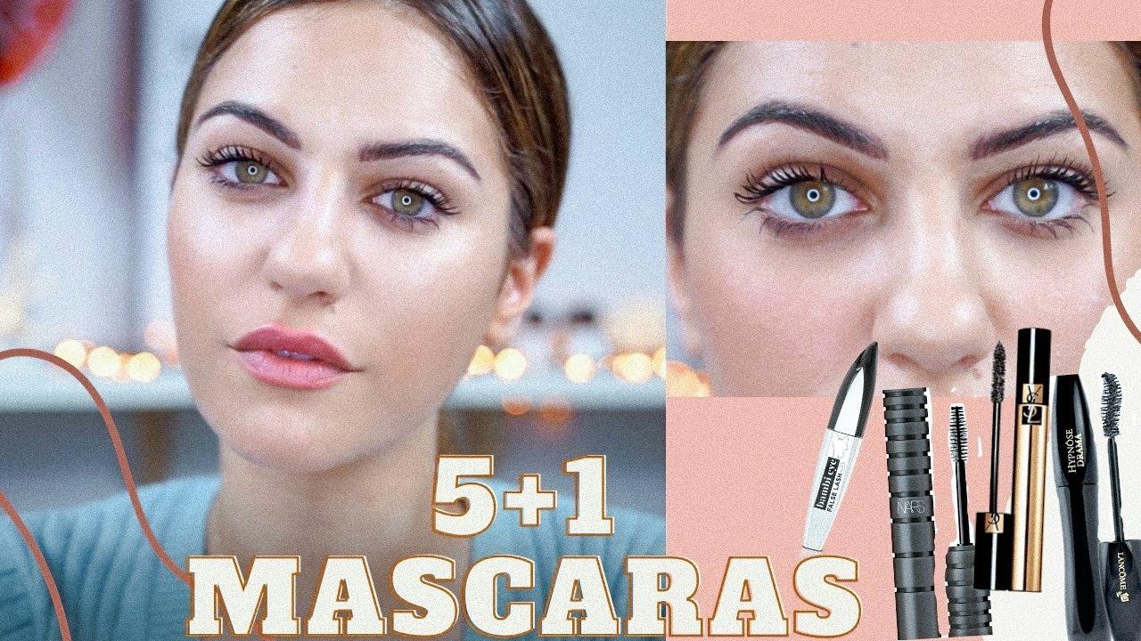 Δοκιμάζω: Τα 5+1 αγαπημένα μου mascaras! 🙆