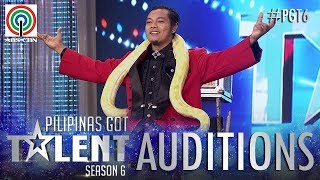 Pilipinas Got Talent 2018 Auditions: Rodel Reforma - Stage Magic