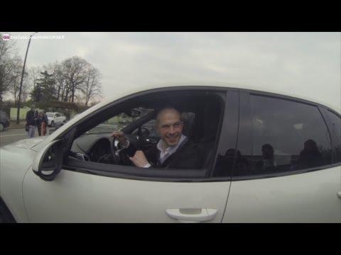 Christophe Jallet en Porsche Cayenne au Camp des Loges PSG