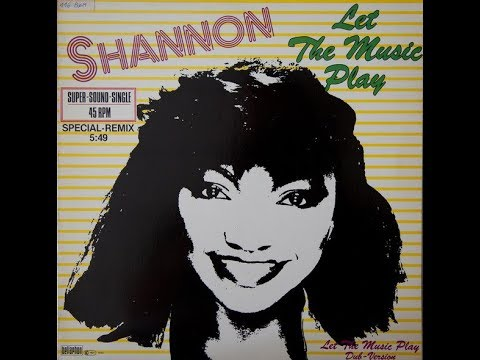 Shannon ‎– Let The Music Play (Special-Remix) Vinyl 1983