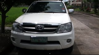 2007 Toyota Fortuner Review (Start Up, In Depth Tour, Engine)