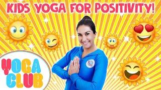 Kids Yoga For Positivity ✨ Yoga Club (Week 36) | Cosmic Kids Yoga