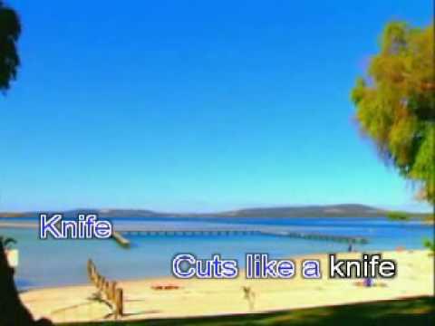 KNIFE BY ROCKWELL COVER (KARAOKE)