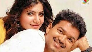Samantha is the wife of Vijay in Atlee movie | Vijay 59