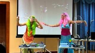 Шоу мыльных пузырей для детей - Краснодар(, 2014-01-27T19:43:55.000Z)