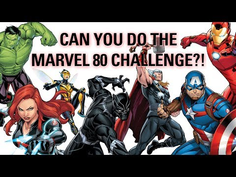 can-you-name-80-marvel-characters-in-60-seconds?!