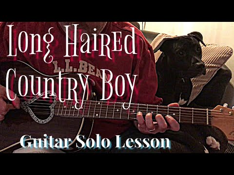 Long Haired Country Boy-The Charlie Daniels Band Guitar Solo Lesson