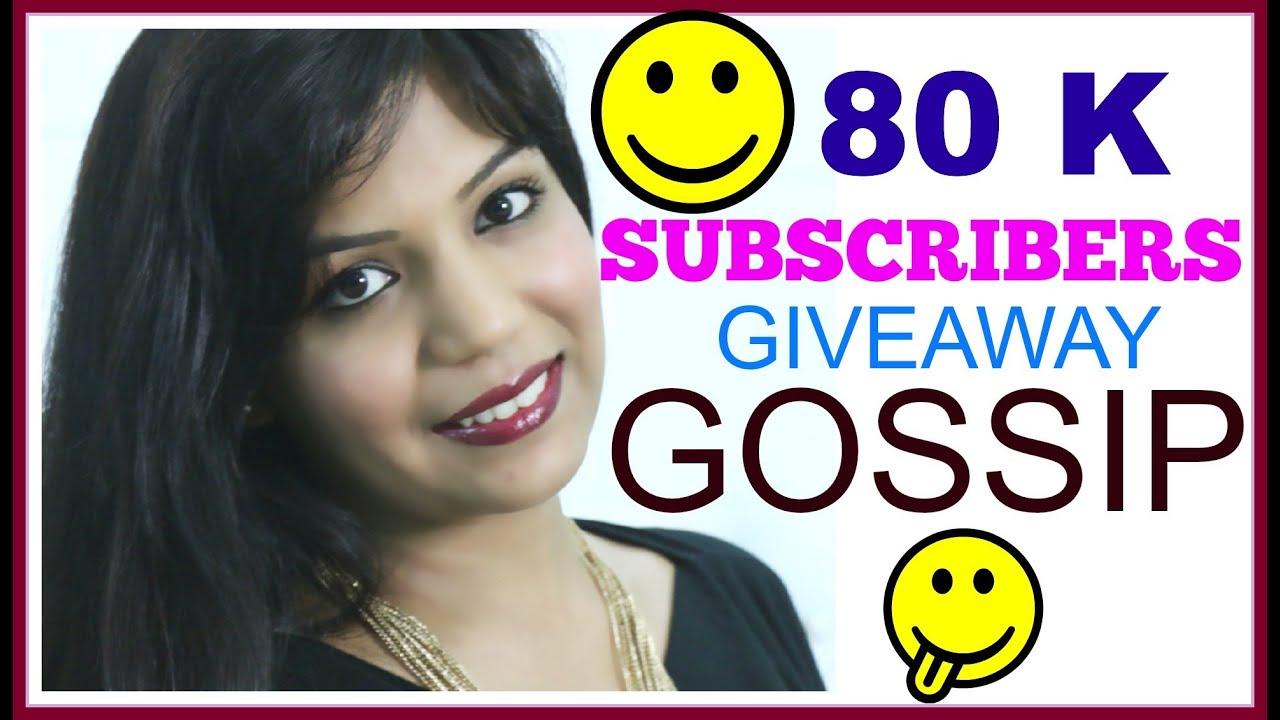 80 K Subscribers,GIVEAWAY,YouTube Indian Guru Gossip, Love