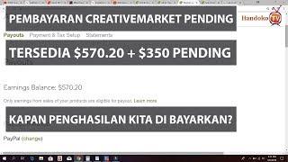 Kapan Di Bayar Oleh Creative Market - Bisnis Online Anak Muda Jaman NOW
