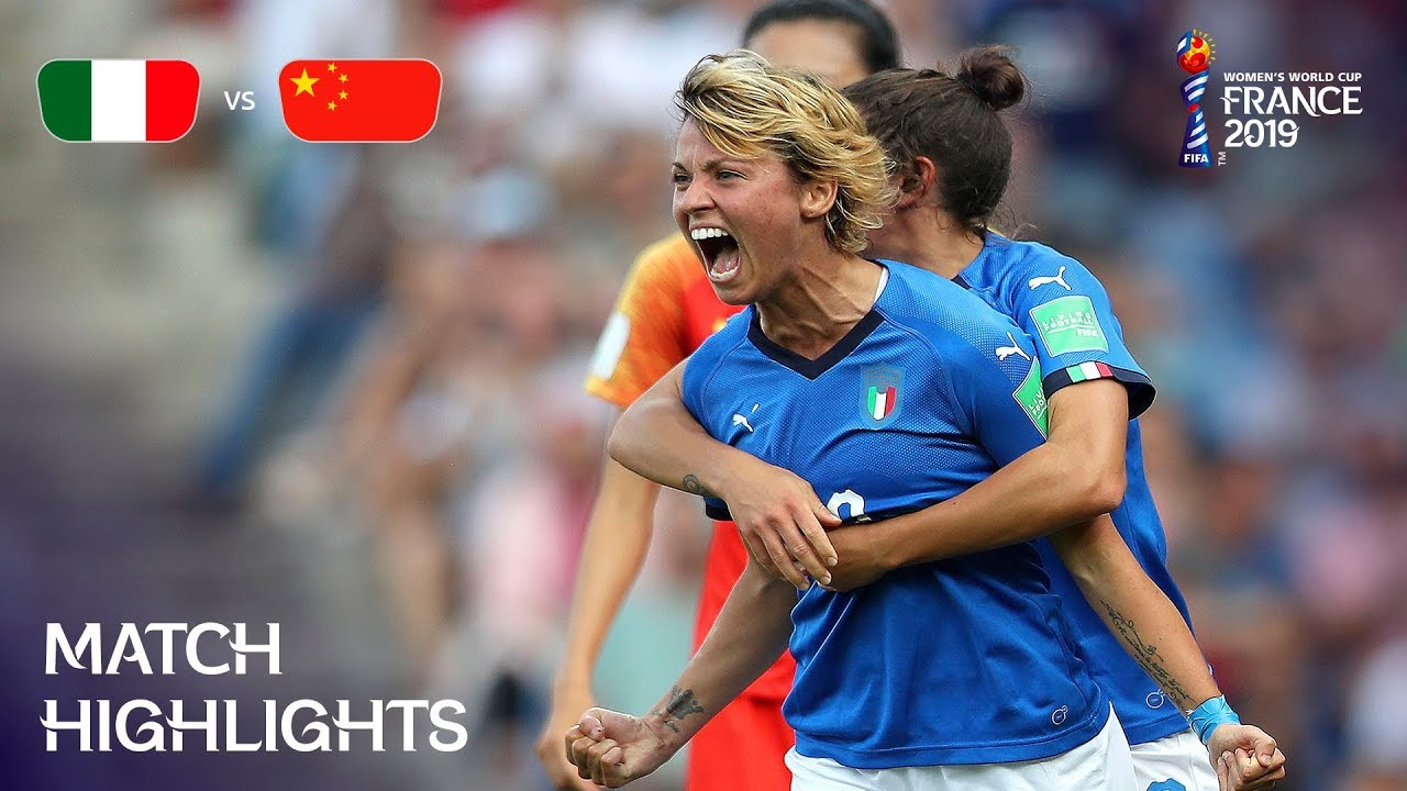 Italy v China PR - FIFA Women's World Cup France 2019 ...