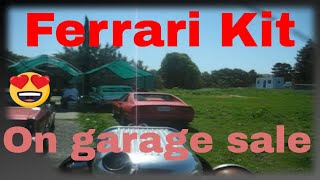 Garage Sale Finds For Ebay, Machine Shop Tools, Hemi Chrysler , Ferrari Kit Car