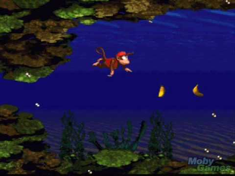 Donkey Kong Country Underwater Music 1 YouTube