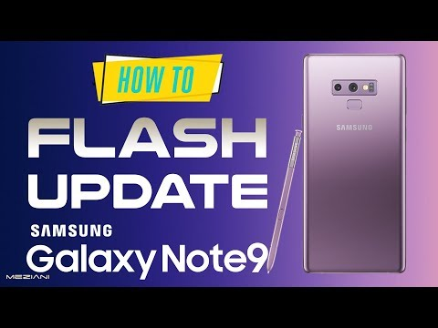 HOW TO INSTALL STOCK FIRMWARE ON GALAXY NOTE 9