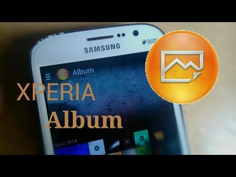 XPERIA Z2 - ALBUM (Gallery App) Ported On Any ANDROID DEVICES