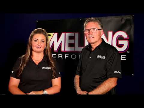 Erica Enders and George Richmond from Melling Engine Parts