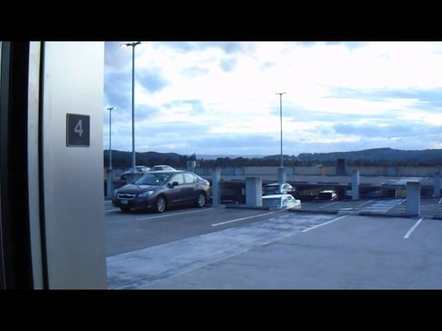 FIRST TIME! Otis Series 6 Hydraulic Elevator at Washington Sq (Nordstrom Parking) in Tigard OR