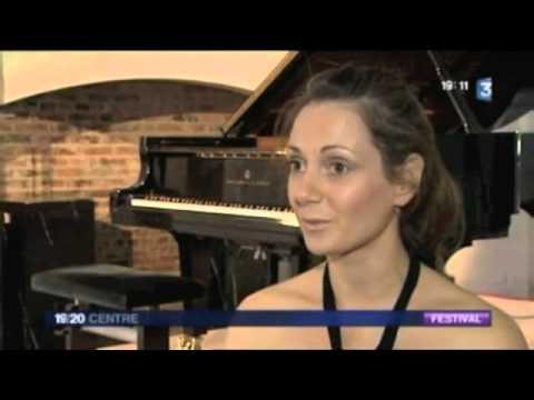 Emmanuelle Swiercz | France 3 | 04/08/2012 Festival de Richelieu