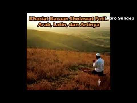 Sholawat Peng Un Dosa Sholawat Fatih