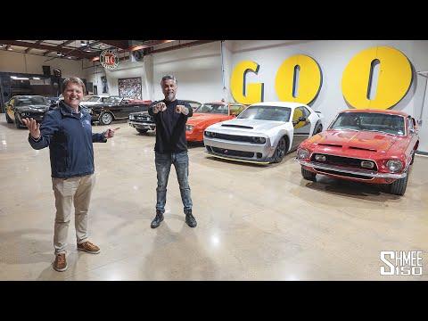 GAS MONKEY GARAGE TOUR! Richard Rawling's Car Collection