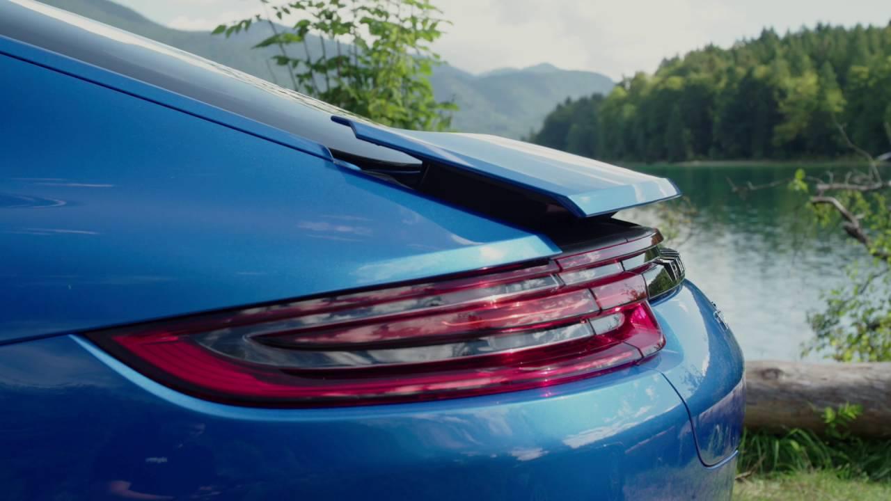 2017 Porsche Panamera Turbo Sapphire Blue