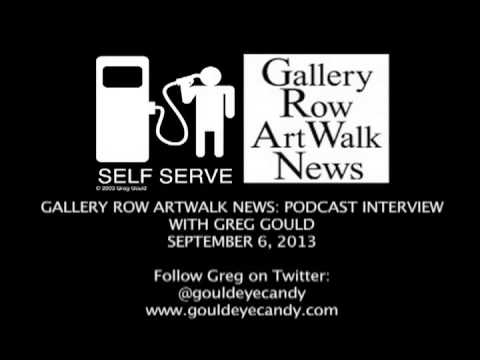 PODCAST INTERVIEW with Gallery Row Artwalk News