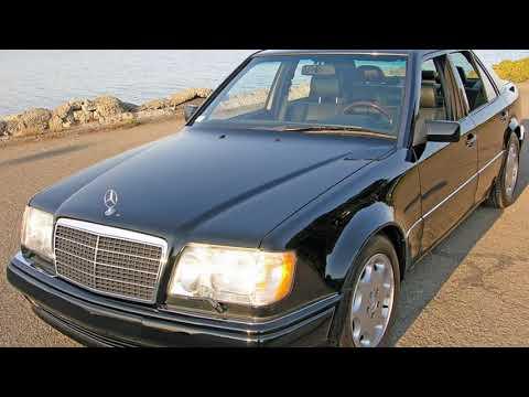 #Монстр#  90/х Волчок Mercedes - Benz  W124 E500
