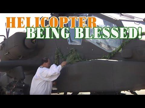 AH 64E Blessing Ceremony