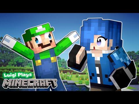 Luigi Plays: MINECRAFTTT