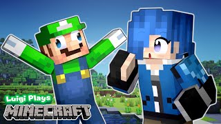 Luigi Plays: MINECRAFTTT WITH TARI!!! (& bedwars too)