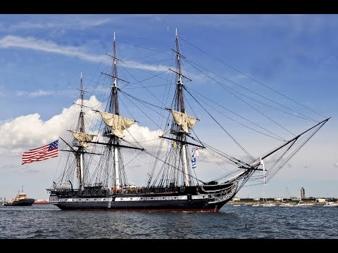 USS Constitution, Charlestown Navy Yard, Boston, Massachusetts, United States