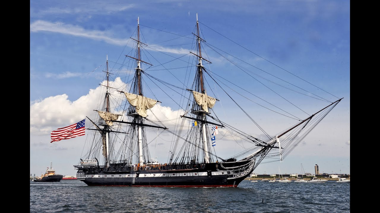 USS Constitution, Charlestown Navy Yard, Boston ...