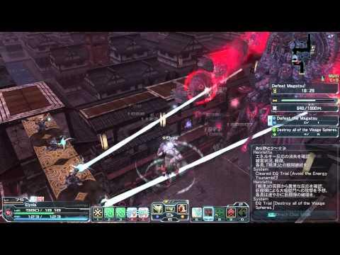 PSO2 Vs. XH Magatsu Victory