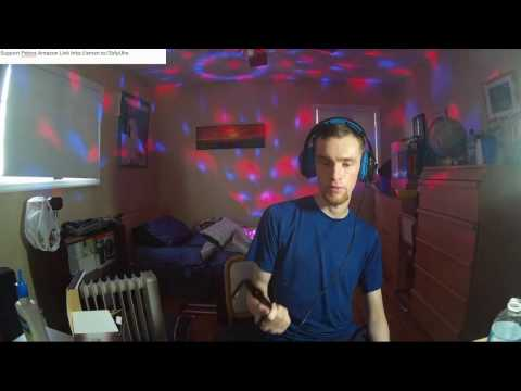 Coidea Sound Activated Stage Light with Remote Review