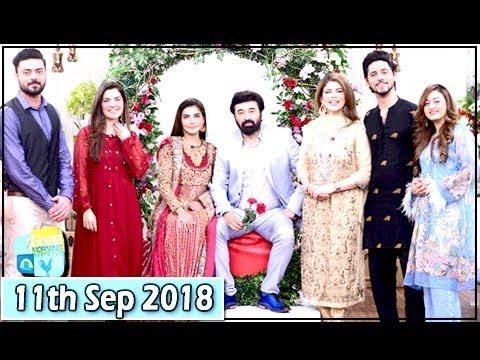 Good Morning Pakistan - Yasir Nawaz & Kiran Khan - 11th September 2018 - ARY Digital Show