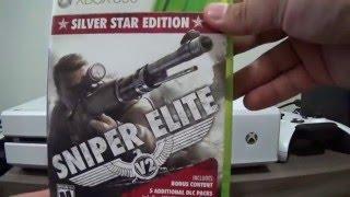 Unboxing - Sniper Elite V2: Silver Star Edition PT-BR XBOX 360