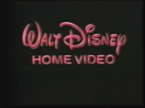 Opening to The Lady and the Tramp 1990 VHS (Australia)