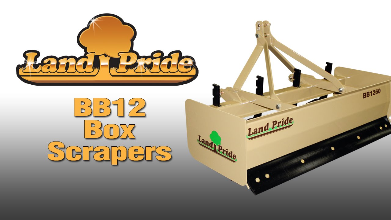 Land Pride BB12 Box Scraper
