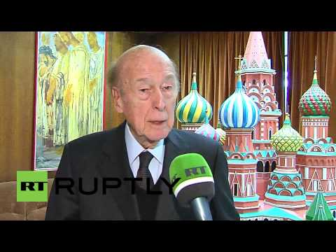 """France: """"Crimea developed as a province of Russia"""" - former President Giscard d'Estaing"""