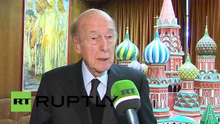 """France: """"Crimea developed as a province of Russia"""" - former President Giscard d"""