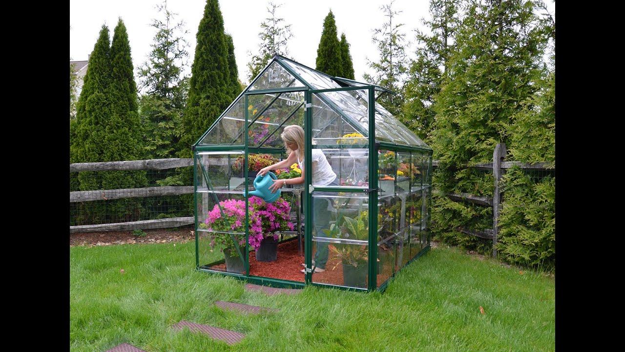 Palram Harmony™ Green Greenhouses - Serre de Jardin Vert (EN+FR ...