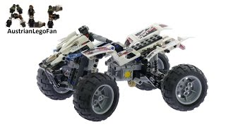 Lego Technic 8262 Quad Bike - Lego Speed Build Review